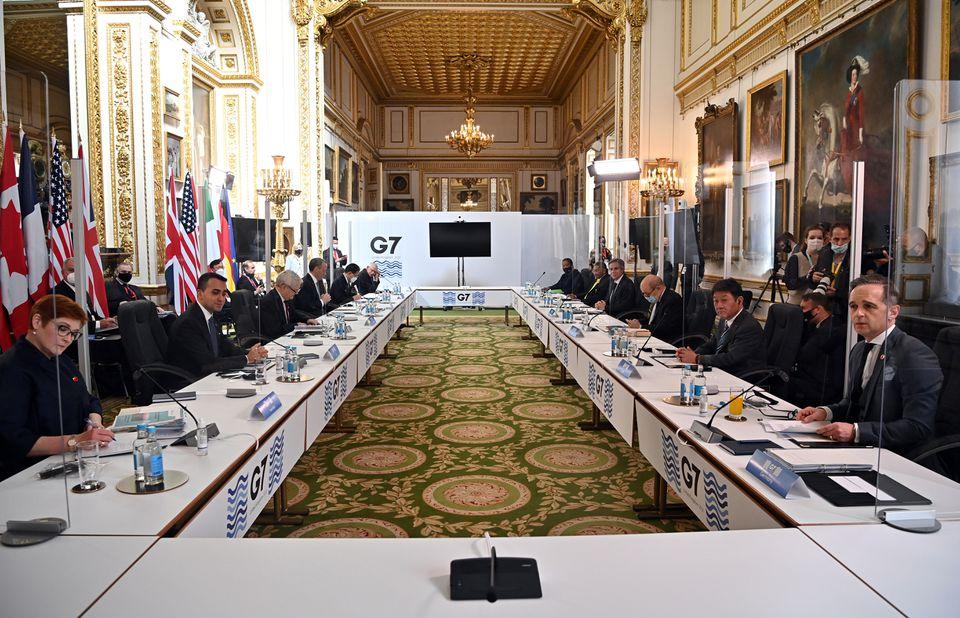 G7 meeting