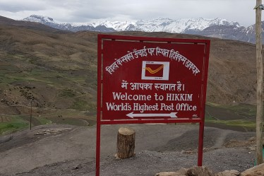 The World's Highest Post Office - Hikkim In Lahaul & Spiti