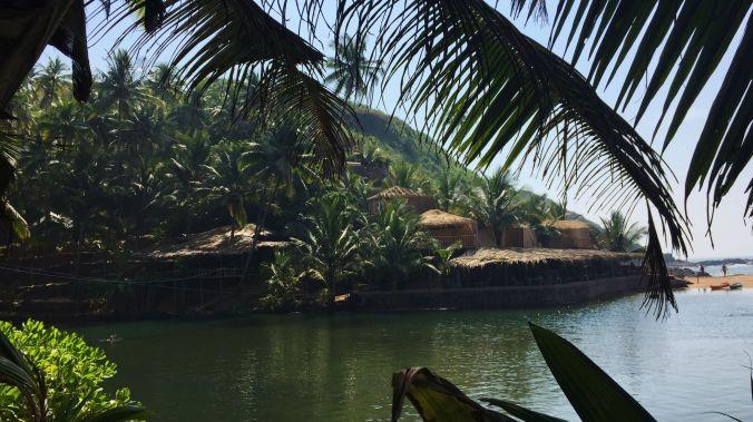 Cola beach Lagoon South Goa