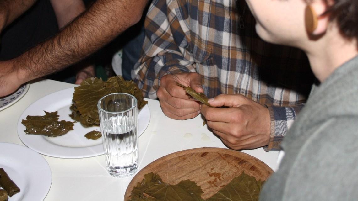 Jalangi – Gefüllte Weinblätter