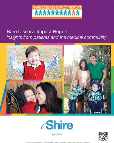 Rare Disease Impact Report - Shire 2013