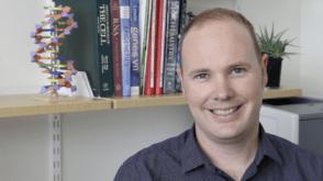 Dr Cas Simons from UQ's Institute for Molecular Biosciences.