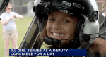Girl with Rare Colon Disease Gets to be Cop For a Day