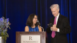 """N. Scott Adzick, MD, Children's Hospital of Philadelphia's Surgeon-in-Chief, Awarded the Congenital Hyperinsulinism International (CHI) """"Be My Sugar"""" Award for Surgical Excellence (PRNewsFoto/The Children's Hospital of Phil)"""