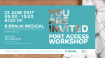 Rare Disease South Africa Offers Port Training Opportunity