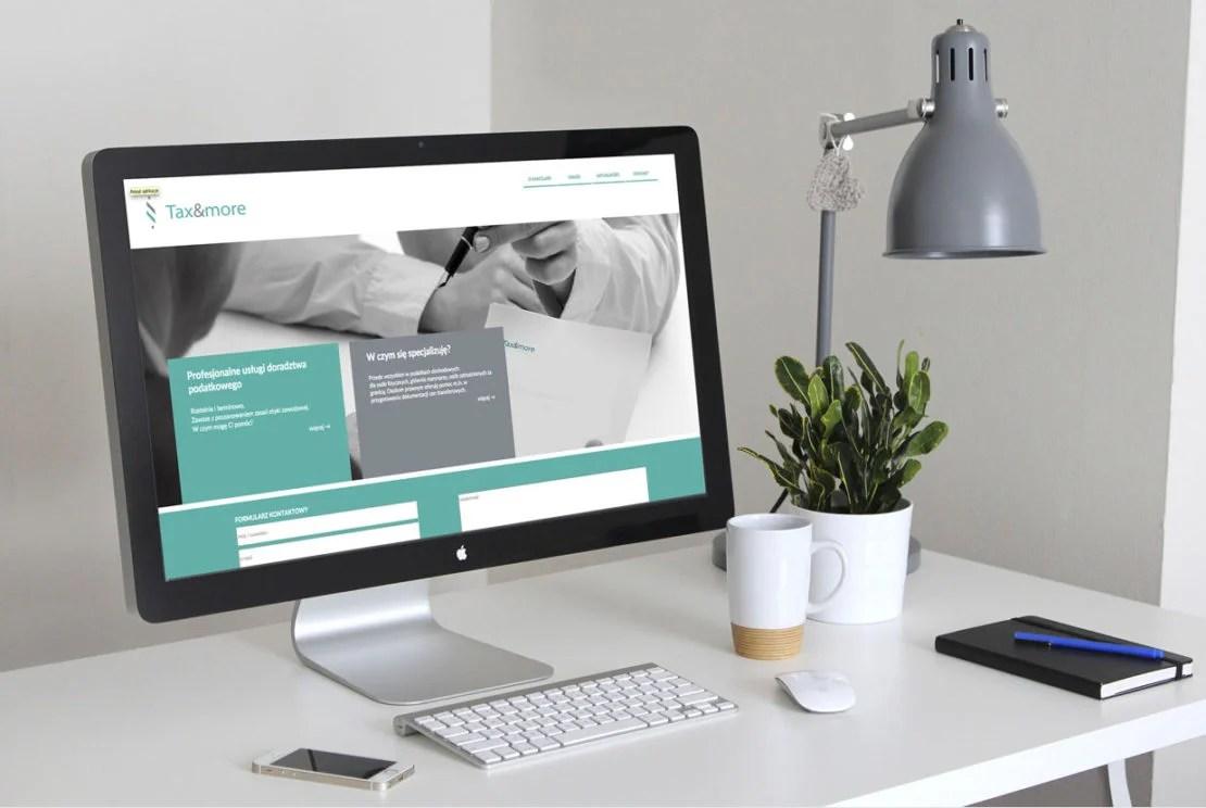 Strona internetowa Tax&More