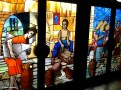 Stained Glass Window, St. Paul's Cathedral, Abidjan, Ivory Coast
