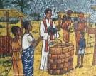 Mosaic, St. Paul's Cathedral, Abidjan, Ivory Coast