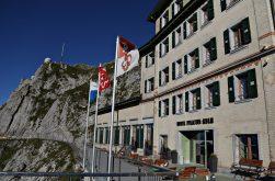 Hotel at Mt Pilatus