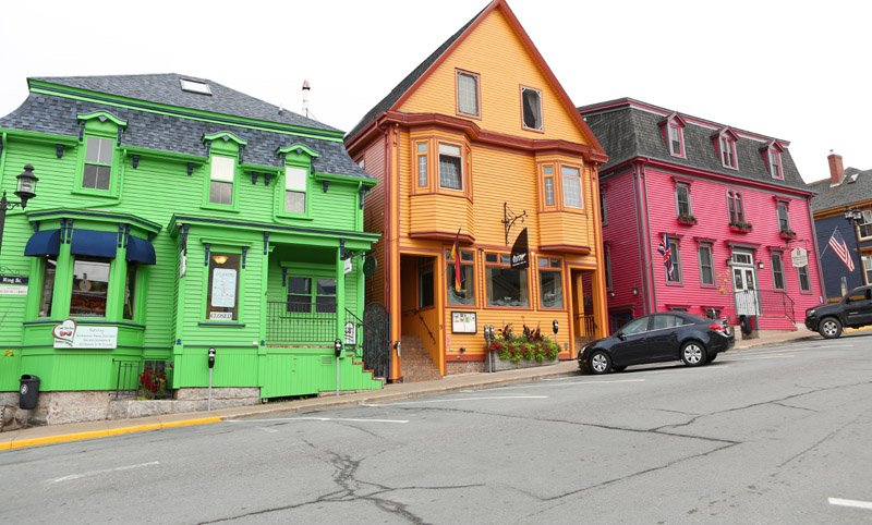 Colorful businesses in Lunenburg copy
