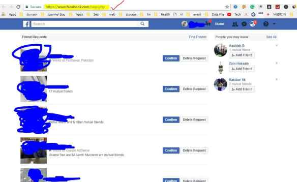 All Friend Request In One Click