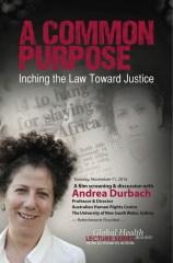 Andrea Durbach Flyer