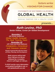 Ruth Levine Flyer