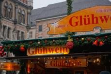 Gluhwein in Marienplatz