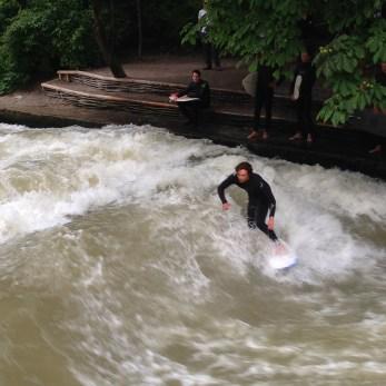 Isar River Surfer