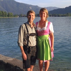 Bavarians in Tegernsee