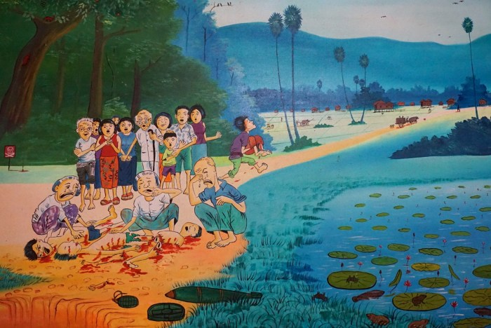 Cambodia Landmine