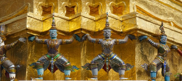 Wat Phra Kaew Guardians