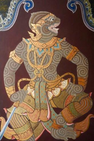 Wat Phra Kaew Mural