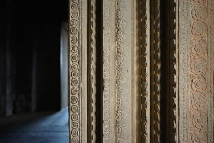 Angkor Wat Doorway Detail