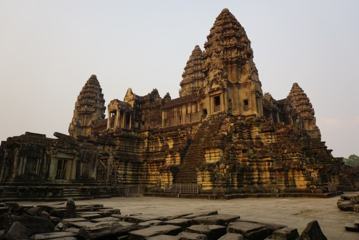 Lotus Tower of Angkor Wat