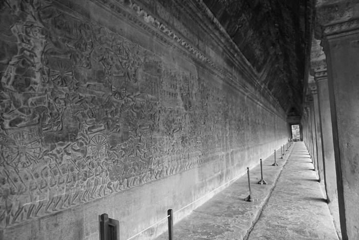 Angkor Wat Bas Reliefs