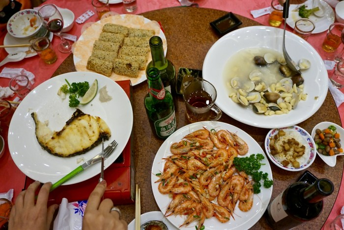 Taiwan Family Style Meal