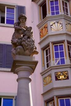 Zurich Statue