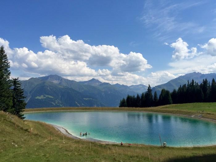 Lake in Graubünden