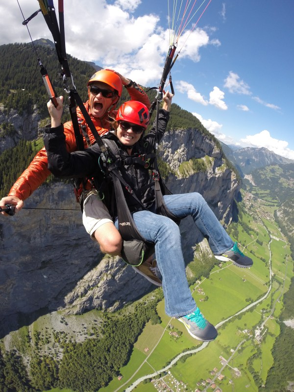 Paragliding with Airtime