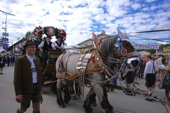 Oktoberfest Beer Cart