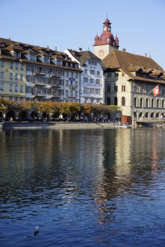 Old Town Lucerne Switzerland