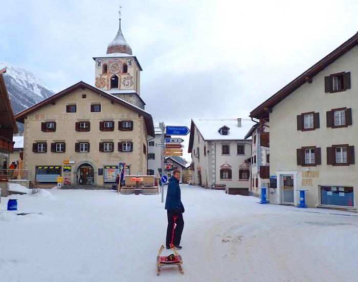 Bergün Town