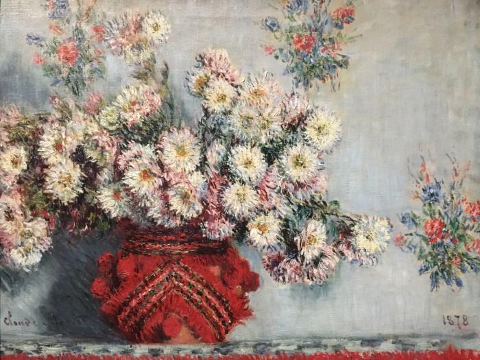 Claude Monet Chrysanthèmes
