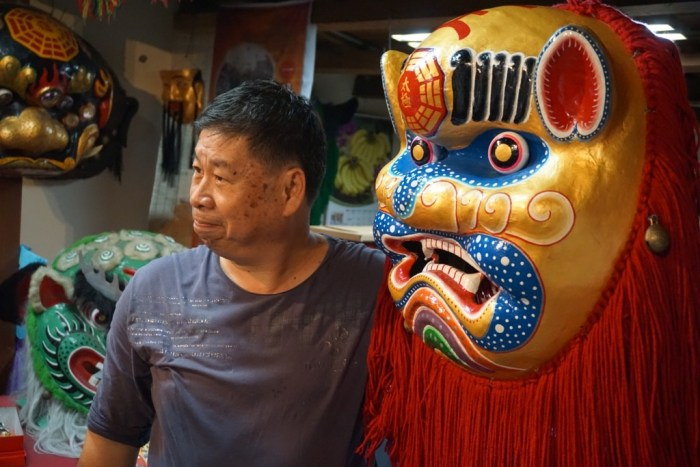Shi Jung Shong Mask Maker