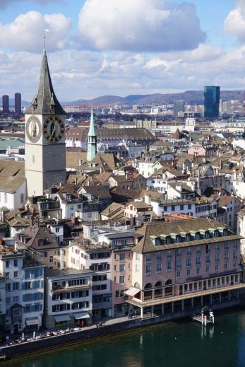 Zurich St. Peter's Church Prime Tower