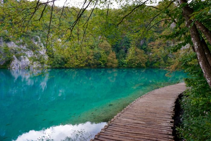 Plitvice Lakes Boardwalk