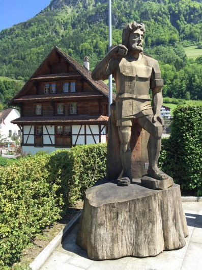 William Tell Statue The Swiss Path