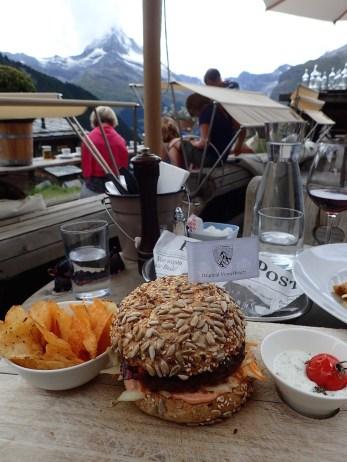 Chez Vrony Burger Alpina