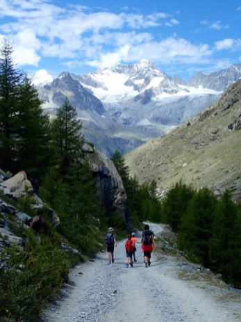 Family Friendly Hikes in Zermatt