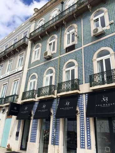 Lisbon tile building