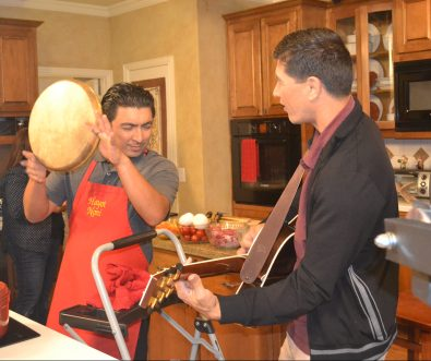 A Little Music in the Kitchen