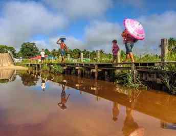 Guest Post: Visiting an Arawak Community in Guyana, South America