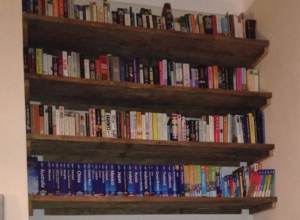 Our book shelves
