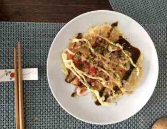 Okonomiyaki Recipe (Japanese Pancakes) | global recipe swap