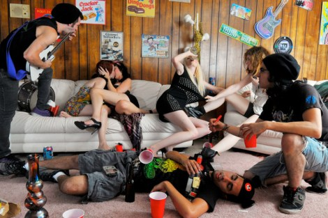 I Drank Girls Only Punch At A Kegger Party