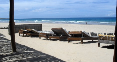 Praia do Tofo: Bamboozi Beach Lodge