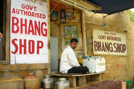 Tripping on Bhang Lassi