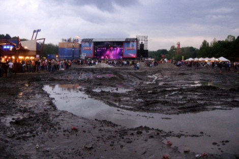 Stuck on the Island of Freedom at Sziget Festival