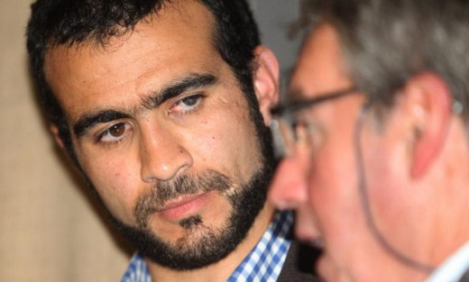 Omar Khadr and his lawyer, Dennis Edney